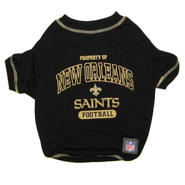 Pets First Dog-products NFL XL New Orleans Saints Dog T