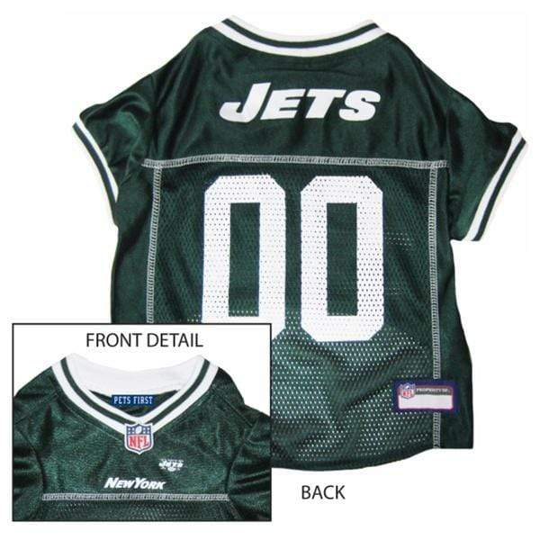 Pets First Dog-products NFL XL New York Jets Dog Jersey