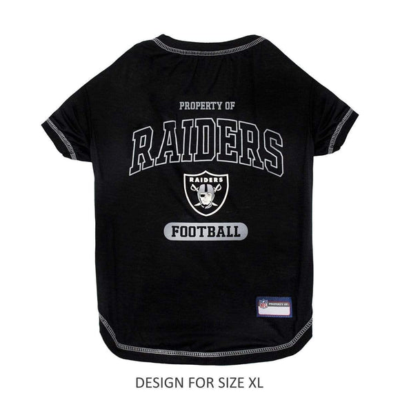 Pets First Dog-products NFL XL Oakland Raiders Dog T
