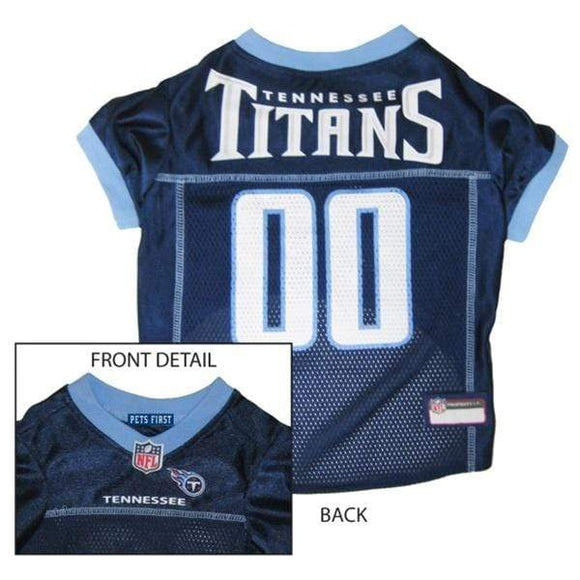 Pets First Dog-products NFL XL Tennessee Titans Dog Jersey