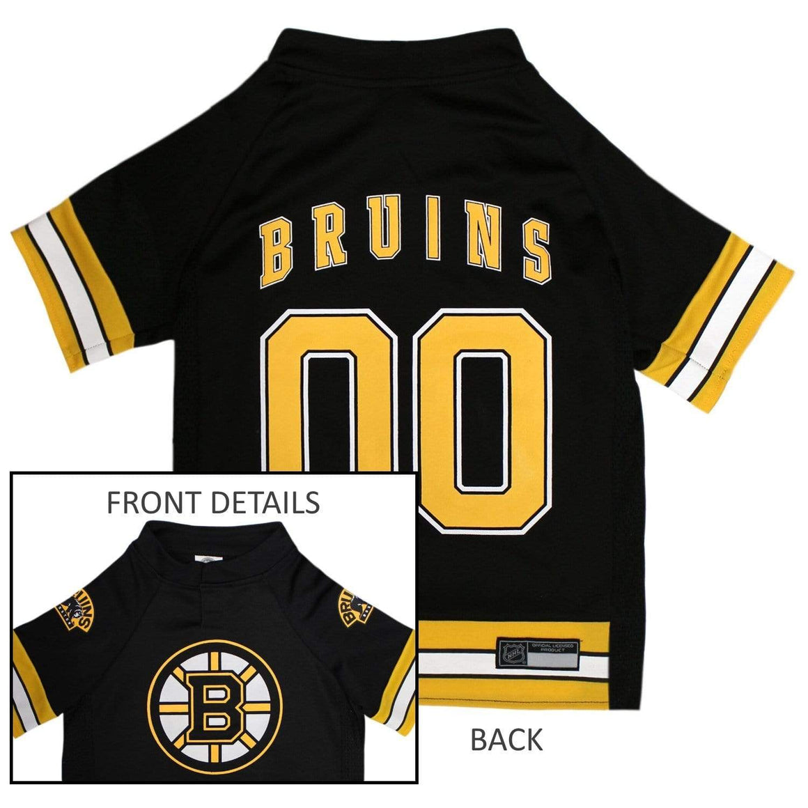 Pets First Dog-products NHL XL Boston Bruins Pet Jersey