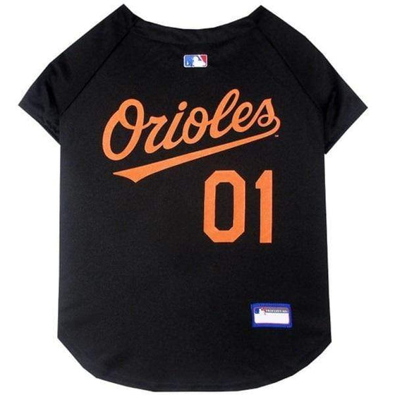 Pets First Dog-products MLB XS Baltimore Orioles Pet Jersey