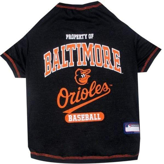 Pets First Dog-products MLB XS Baltimore Orioles Pet T