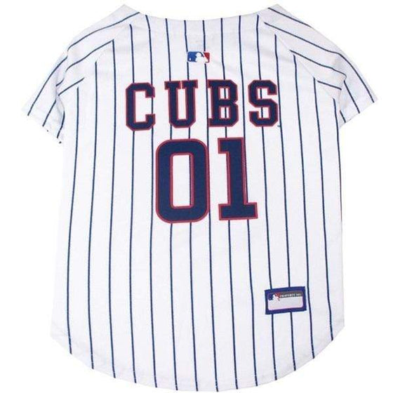 Pets First Dog-products MLB XS Chicago Cubs Pet Jersey