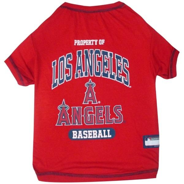 Pets First Dog-products MLB XS Los Angeles Angels Pet T
