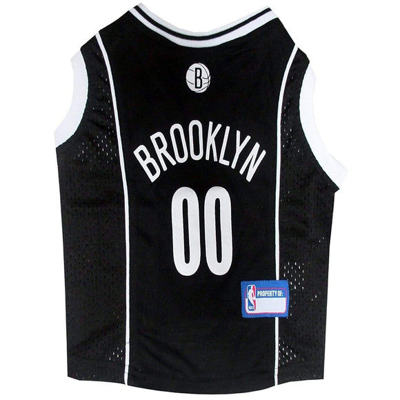 Pets First Dog-products NBA XS Brooklyn Nets Pet Jersey