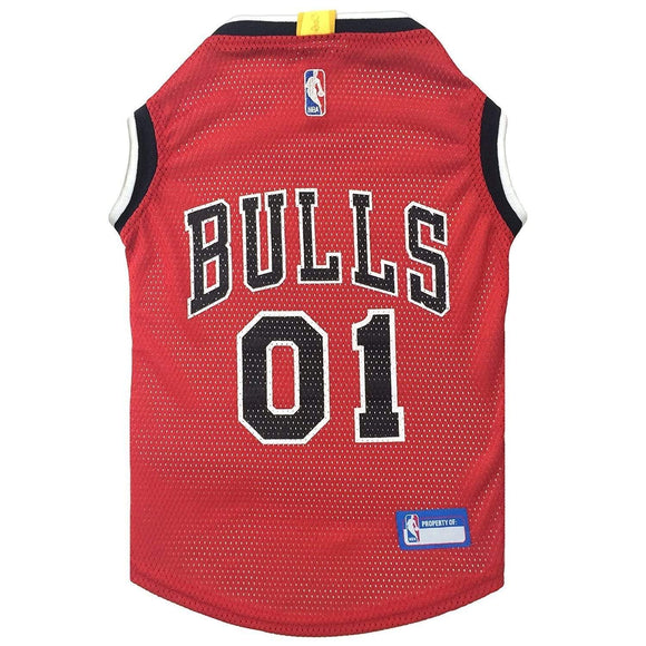 Pets First Dog-products NBA XS Chicago Bulls Pet Jersey