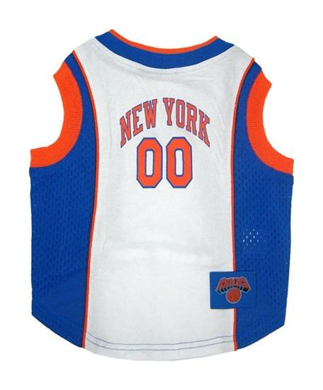 Pets First Dog-products NBA XS New York Knicks Dog Jersey