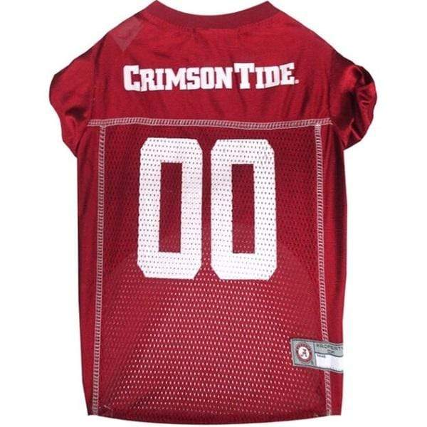 Pets First Dog-products NCAA XS Alabama Crimson Tide Pet Jersey