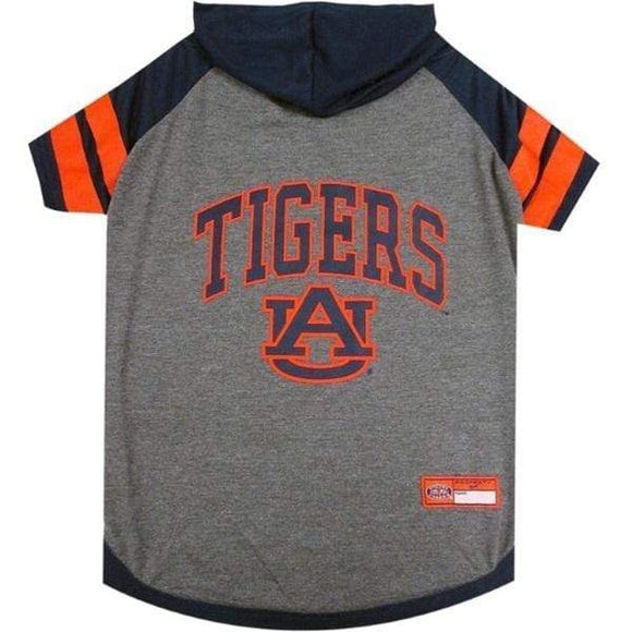 Pets First Dog-products NCAA XS Auburn Tigers Pet Hoodie T