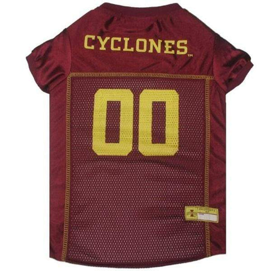 Pets First Dog-products NCAA XS Iowa State Cyclones Pet Jersey