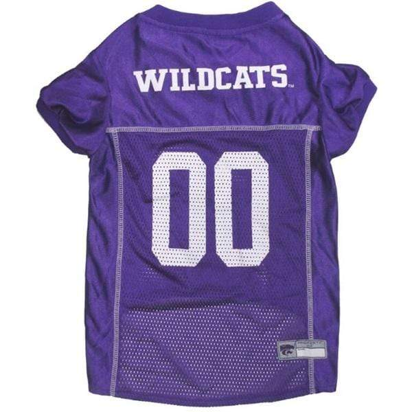 Pets First Dog-products NCAA XS Kansas State Wildcats Pet Jersey