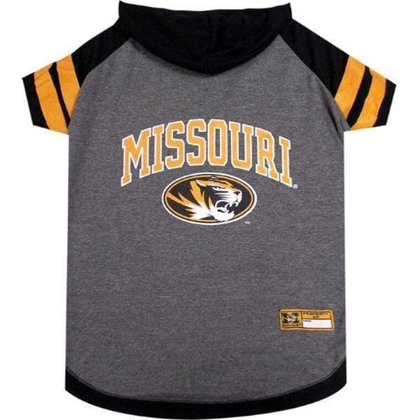 Pets First Dog-products NCAA XS Missouri Tigers Pet Hoodie T