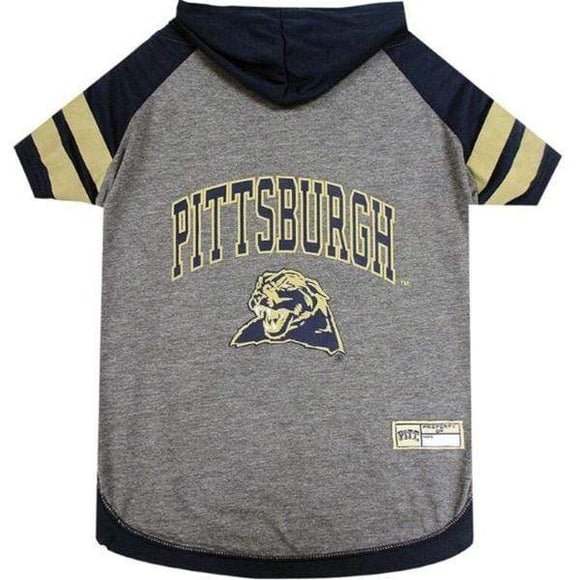 Pets First Dog-products NCAA XS Pittsburgh Panthers Pet Hoodie T