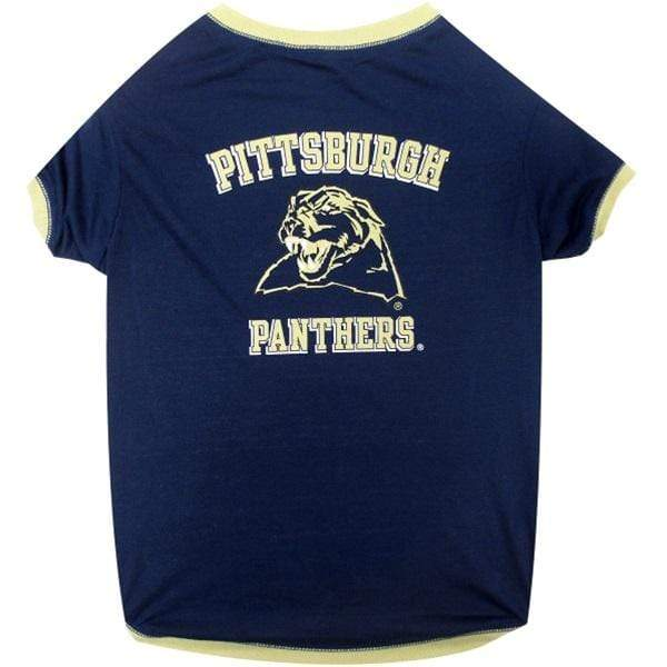 Pets First Dog-products NCAA XS Pittsburgh Panthers Pet T