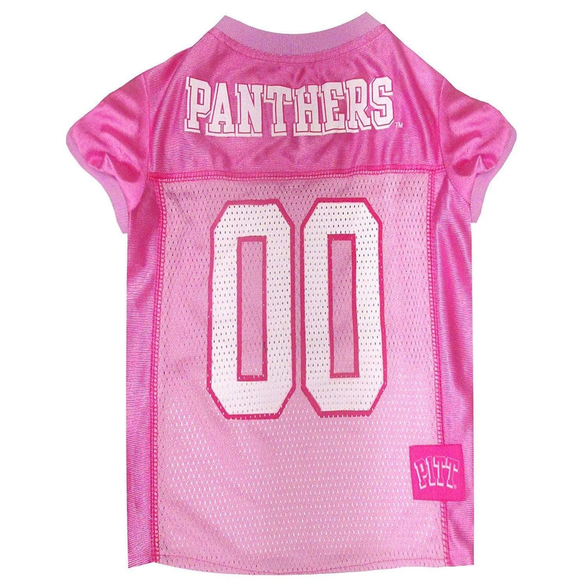 Pets First Dog-products NCAA XS Pittsburgh Panthers Pink Pet Jersey