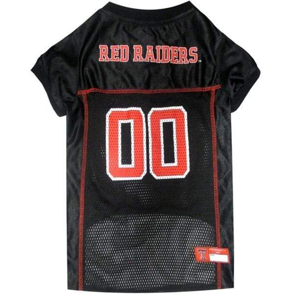 Pets First Dog-products NCAA XS Texas Tech Red Raiders Pet Jersey
