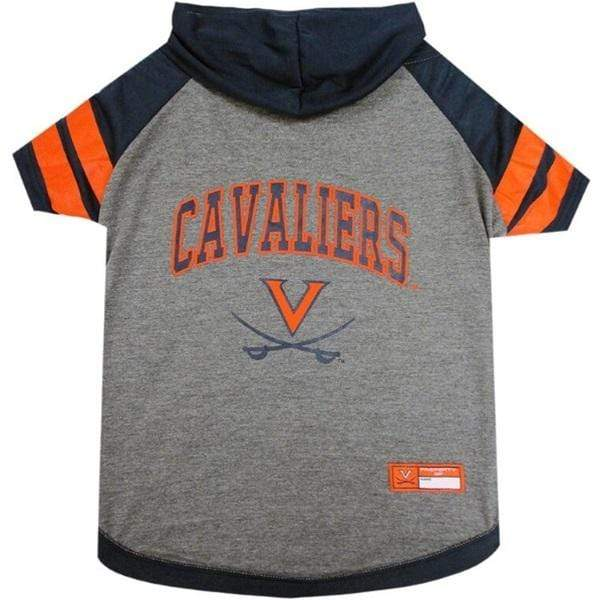 Pets First Dog-products NCAA XS Virginia Cavaliers Pet Hoodie T