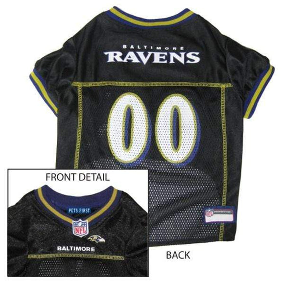 Pets First Dog-products NFL XS Baltimore Ravens Dog Jersey