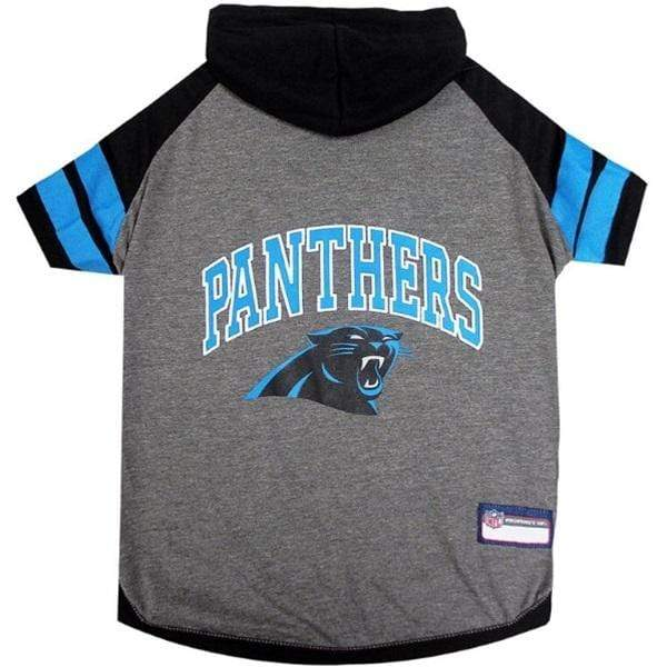 Pets First Dog-products NFL XS Carolina Panthers Pet Hoodie T