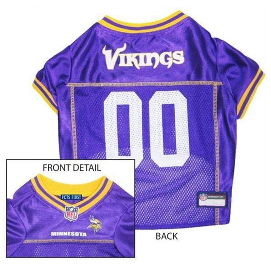Pets First Dog-products NFL XS Minnesota Vikings Dog Jersey