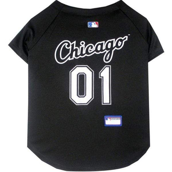 Pets First Dog-products MLB XXL Chicago White Sox Pet Jersey