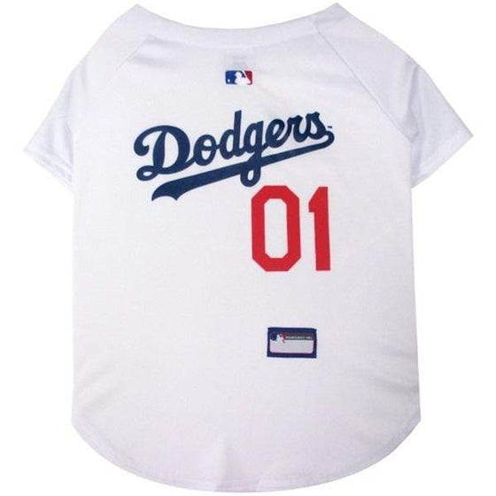 Pets First Dog-products MLB XXL Los Angeles Dodgers Pet Jersey
