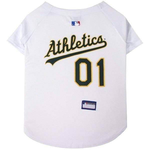 Pets First Dog-products MLB XXL Oakland A's Pet Jersey