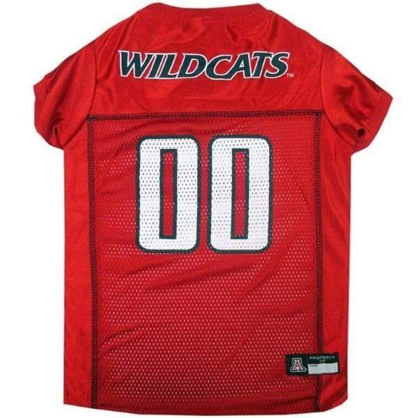 Pets First Dog-products NCAA XXL Arizona Wildcats Pet Jersey