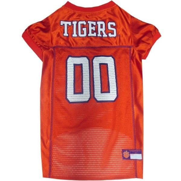 Pets First Dog-products NCAA XXL Clemson Tigers Pet Jersey