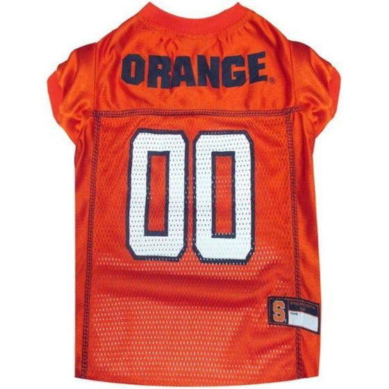 Pets First Dog-products NCAA XXL Syracuse Orange Pet Jersey