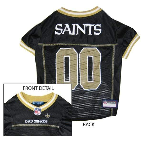 Pets First Dog-products NFL XXL New Orleans Saints Dog Jersey