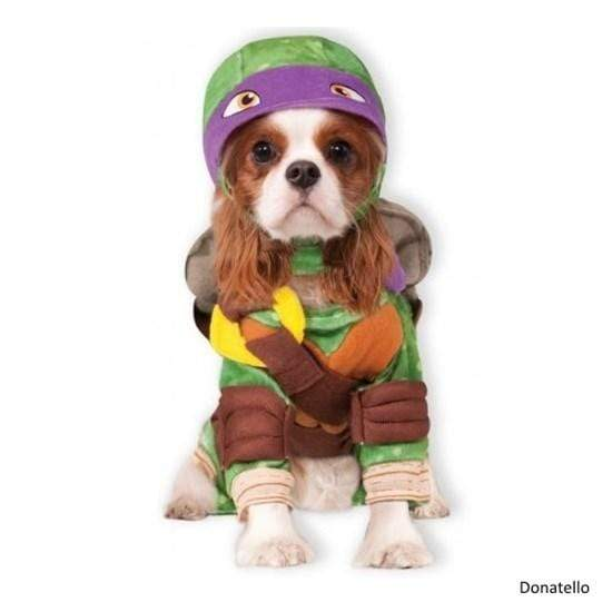Rubie's Costume Co Dog-products Dog Donatello / Medium Teenage Mutant Ninja Turtles Pet Costume