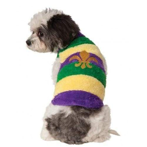 Rubie's Costume Co Dog-products Apparel Large Mardi Gras Pet Sweater
