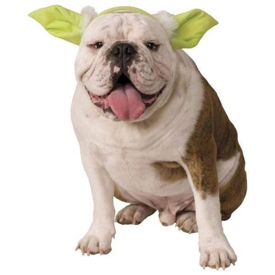 Rubie's Costume Co Dog-products Events & Holidays S/M Star Wars Yoda Ears Pet Headpiece