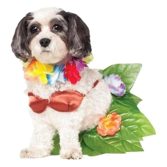 Rubie's Costume Co Dog-products Dog Small Hula Girl Pet Costume