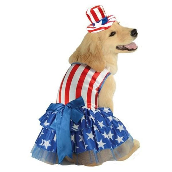 Rubie's Costume Co Dog-products Events & Holidays Small Patriotic Pooch Pet Costume