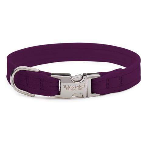 Susan Lanci Dog-products Amethyst Perfect Fit Collar