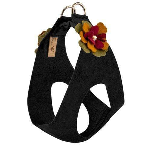 Susan Lanci Dog-products Autumn Flowers Step In Harness