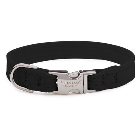 Susan Lanci Dog-products Black Perfect Fit Collar