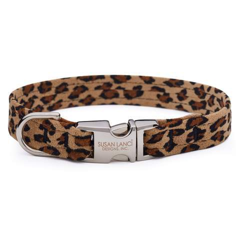 Susan Lanci Dog-products Cheetah Perfect Fit Collar