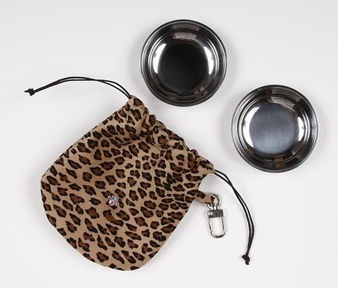 Susan Lanci Dog-products Cheetah Travel Pouch