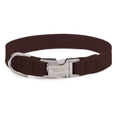 Susan Lanci Dog-products Chocolate Perfect Fit Collar