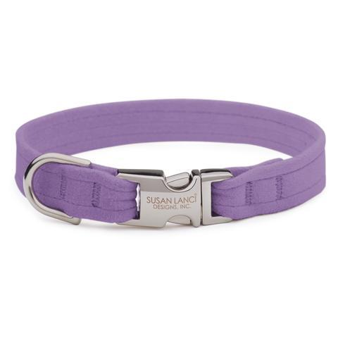 Susan Lanci Dog-products French Lavender Perfect Fit Collar