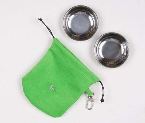 Susan Lanci Dog-products Green Travel Pouch