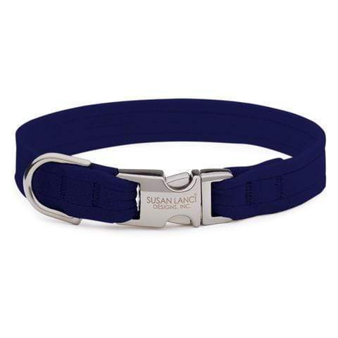 Susan Lanci Dog-products Indigo Perfect Fit Collar