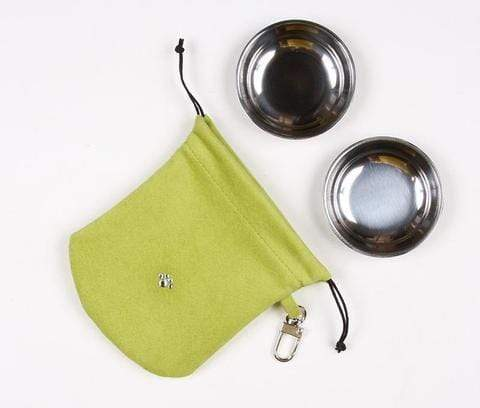 Susan Lanci Dog-products Lime Travel Pouch