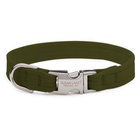 Susan Lanci Dog-products Olive Perfect Fit Collar