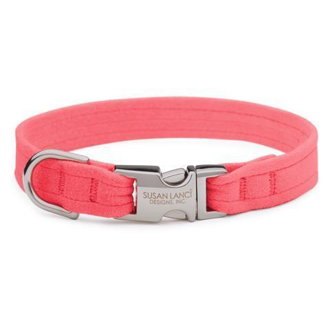 Susan Lanci Dog-products Perfect Pink Perfect Fit Collar