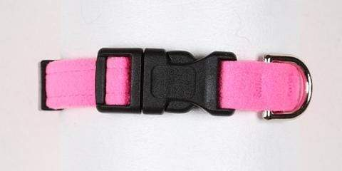 Susan Lanci Dog-products Perfect Pink Quick Release Collar